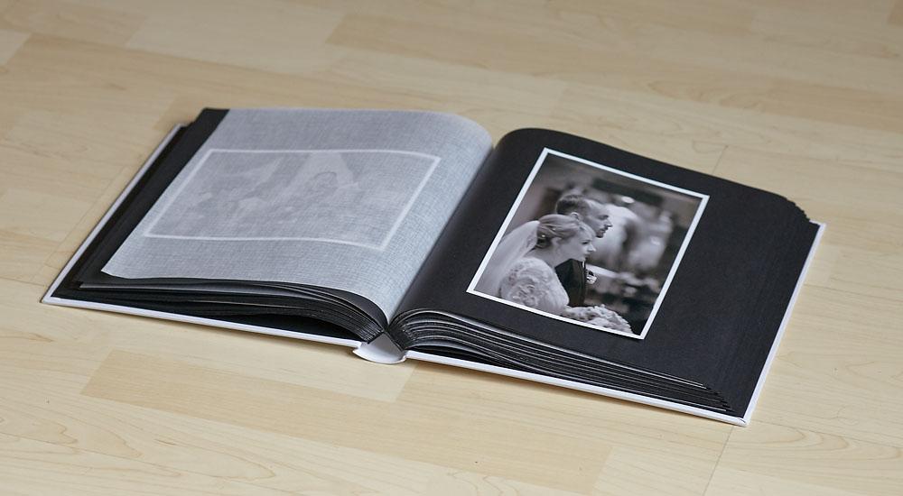 album fotograficzny czarny